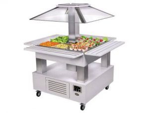 buffet-ilot-central-refrigere-professionnel-blanc-roller-grill-4-bacs-gn-1-1